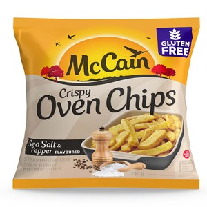 Oven Chips Sea Salt & Pepper 750g